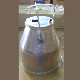 Conjunto de ordenha balde ao pé de laval, manaus e westfália